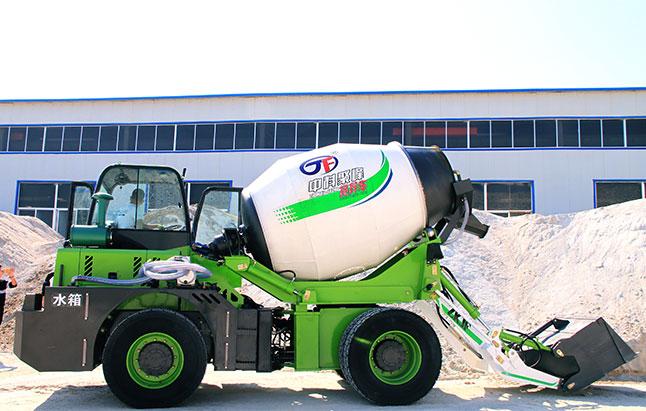 自动混凝土搅拌车可以在什么样的道路上施工?