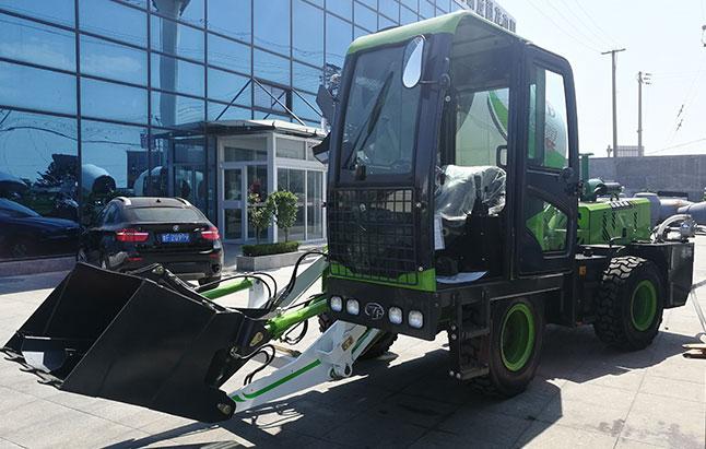 全自动装载移动式混凝土搅拌车的生产参数