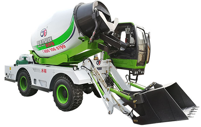 为你解答:小型混凝土搅拌车的加油系统维护要点